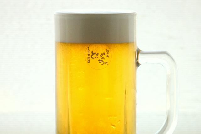 生ビール 中