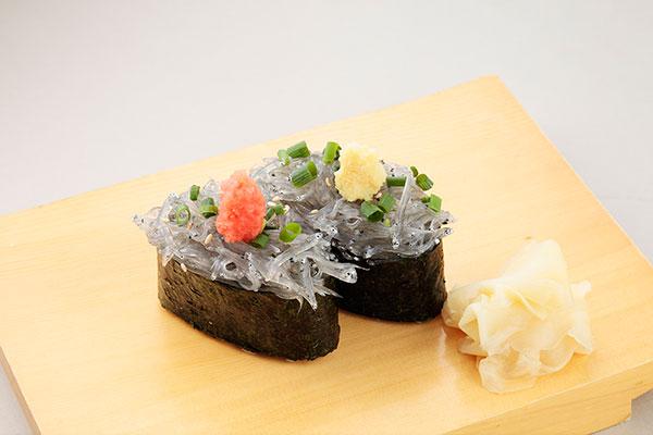 生しらす寿司