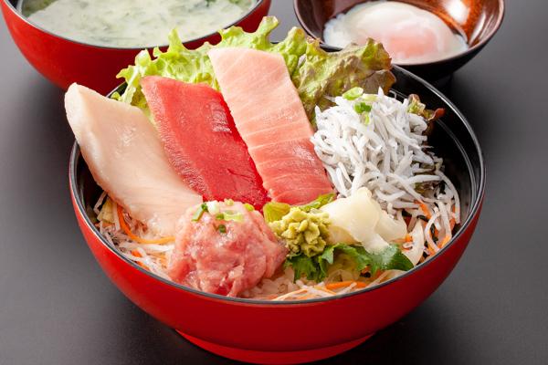 三崎マグロしらす丼